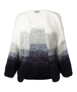 MAIAMI   Tie Dye Cardigan Small Mohair/Merino/Polyamide