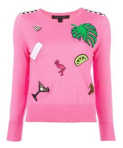 Marc Jacobs | Embellished Knitted Sweater Large Wool