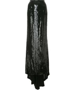 Carolina Herrera | Sequin Fishtail Skirt 10 Sequin/Silk