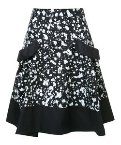 Carolina Herrera | Splatter Paint Skirt 12 Cotton