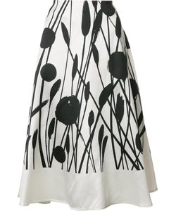 Carolina Herrera | Circle Skirt 12 Silk/Cotton