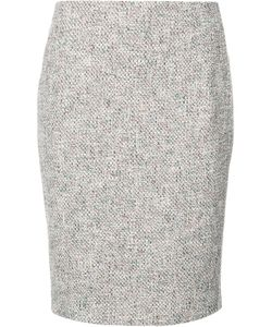 Akris Punto | Patterned Pencil Skirt 12 Cotton