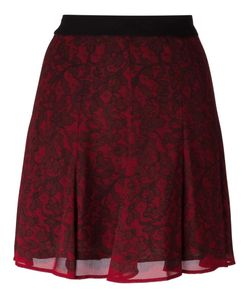 Michael Michael Kors | Lace Print Skirt 6 Polyester