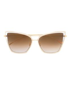 DITA Eyewear | Oversized Square Frame Sunglasses Metal