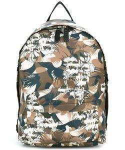 Etro | Camouflage Print Backpack Nylon/Polyamide/Calf Leather
