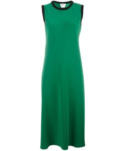 DKNY | Sleeveless Satin Dress Size Small Polyester/Triacetate/Merino