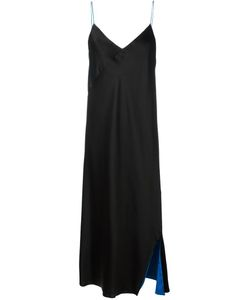 DKNY | Reversible Slip Dress Medium Rayon/Polyester/Triacetate