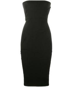 Rick Owens   Strapless Fitted Dress 38 Cotton/Viscose/Spandex/Elastane