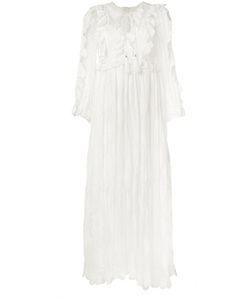Zimmermann | Valour Ruffle Dress 2 Silk/Cotton