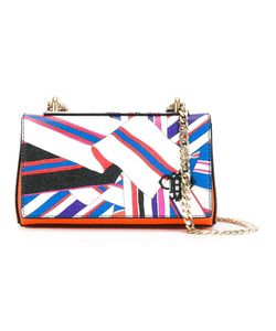 Emilio Pucci | Scarf Print Crossbody Bag Leather/Metal