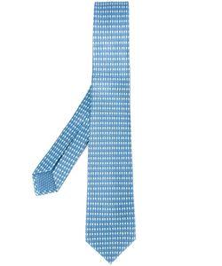 Bulgari | Micro Print Tie Silk