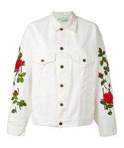 OFF-WHITE | Embroidered Jacket Xs Cotton/Spandex/Elastane