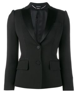 Alexander McQueen | Tuxedo Jacket 40 Cupro/Wool/Silk