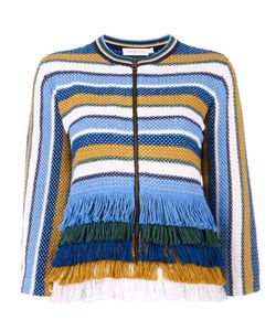 Tory Burch | Fringed Jacket Small Cotton