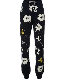 BARRIE | Moon Flowers Trousers Small Cashmere