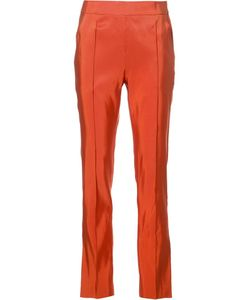 Rosie Assoulin | Slim-Fit Tailored Trousers 2 Silk