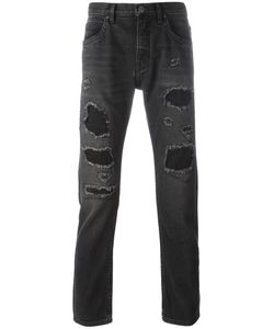 Helmut Lang | Destroyed Jeans 32 Cotton/Polyester