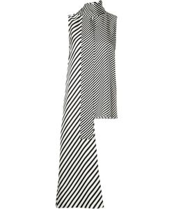 Monse   Long Tie Sleeveless Blouse 10 Silk