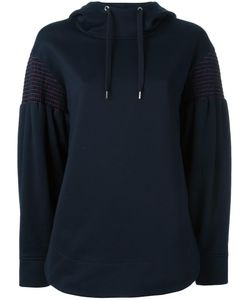 Cedric Charlier | Cédric Charlier Striped Embroidery Hoodie 42 Cotton