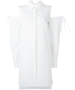 Dkny Pure | Cold Shoulder Shirt Small Cotton