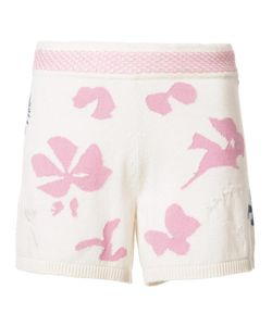 BARRIE | Moon Flowers Shorts Small Cashmere