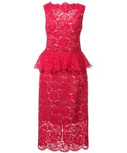 Nha Khanh | Lace Midi Dress 6 Polyester/Nylon/Cotton/Rayon