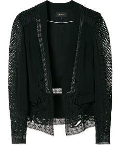 Kobi Halperin | Panelled Lace Blazer Xs Polyester/Silk