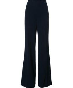 Roland Mouret | Wide-Leg Trousers 10 Acetate/Viscose/Spandex/Elastane