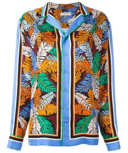 Emilio Pucci   Рубашка С Лиственным Принтом
