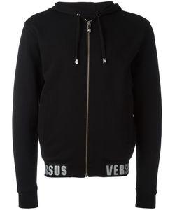 Versus | Zip Up Hoodie Mens Size Medium Cotton/Polyester/Spandex/Elastane