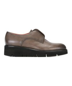 Santoni | Platform Loafers 39.5 Nappa Leather/Leather/Rubber