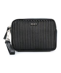 DKNY | Quilted Clutch Calf Leather