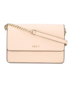 DKNY | Small Flap Crossbody Bag Calf Leather
