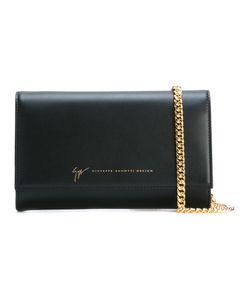 Giuseppe Zanotti Design   Chain Strap Shoulder Bag Leather/Metal