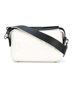 DKNY | Embossed Logo Crossbody Bag Calf Leather