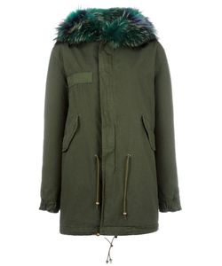 MR & MRS Italy | Fur Trimmed Parka Xs
