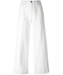Twin-set | Wide-Legged Cropped Jeans 25 Cotton