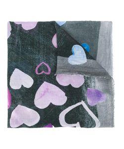 Ottotredici | Heart Print Scarf Modal/Cashmere
