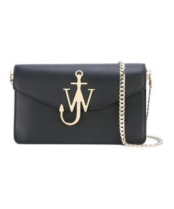 J.W. Anderson | J.W.Anderson Logo Plaque Crossbody Bag Calf Leather