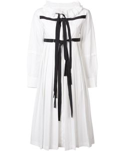 Tsumori Chisato | Strap Pleated Dress 3 Cotton