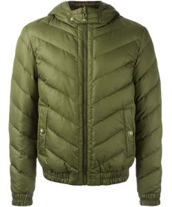 Versus | Hooded Quilted Jacket 46 Polyamide/Polyester/Viscose/Polyester