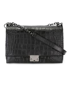 Emporio Armani | Logo Buckle Shoulder Bag Leather/Cotton