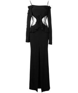 Alessandra Rich | Off The Shoulder Gown 38 Viscose/Acetate/Spandex/Elastane/Polyamide