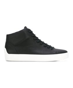 THE LAST CONSPIRACY | Lace-Up Hi-Tops 40 Leather/Rubber