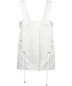 Helmut Lang | Drawstring Top Small Cotton/Silk