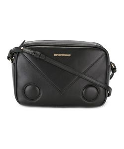 Emporio Armani | Embossed Logo Cross Body Bag Leather