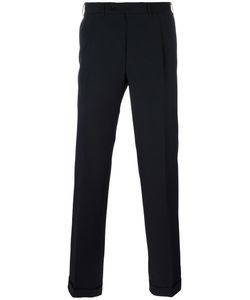 Canali | Pleated Tailored Trousers 56 Wool
