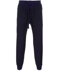 Haider Ackermann | Drawstring Track Pants Large Cotton/Rayon