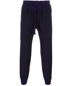 Haider Ackermann | Drawstring Track Pants Large Cotton/Rayon
