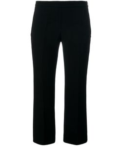 Neil Barrett | Flared Cropped Trousers 42 Polyester/Acetate/Cotton
